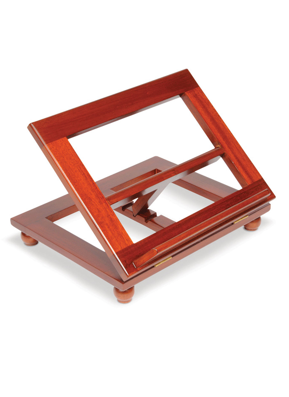 Wooden Bible Stand ~ Adjustable stained wooden bible stand uk church supplies