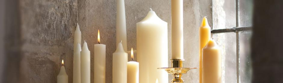 Charles Farris Beeswax Church Candles